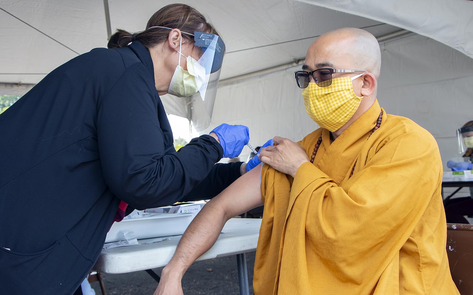 Mini Clinics Tackle Health Disparities One Flu Shot At A Time