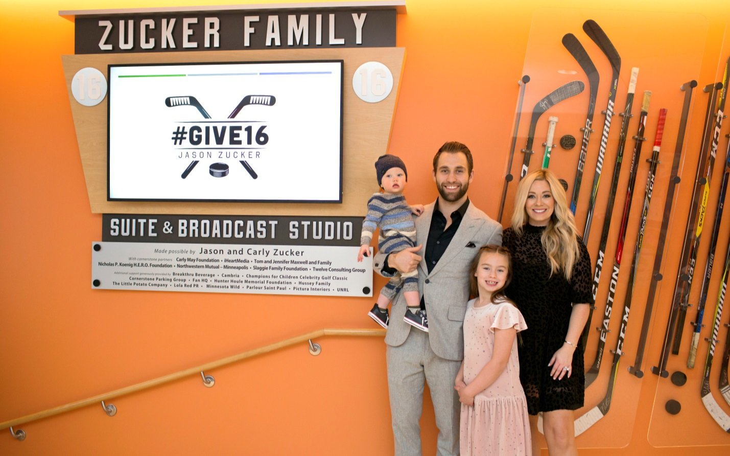 New Zucker Family Suite And Broadcast Studio Stands Out