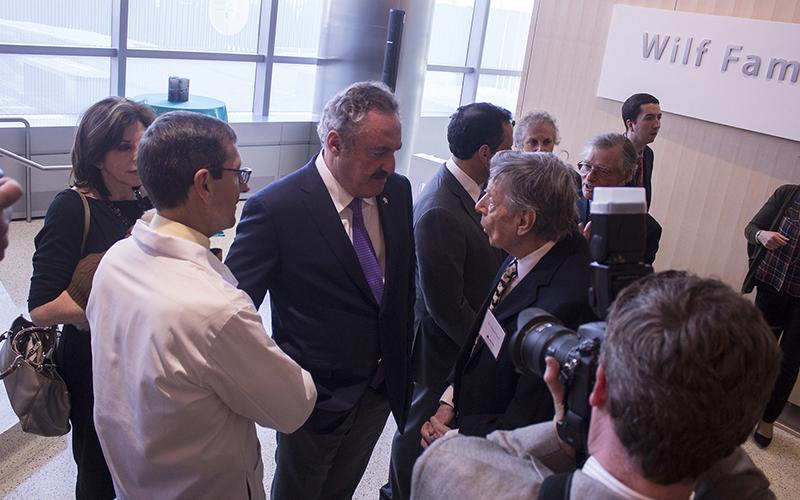 New Conference Center Unveiled At University Of Minnesota Masonic Childrens Hospital